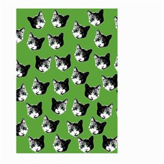 Cat Pattern Large Garden Flag (two Sides) by Valentinaart