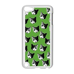 Cat Pattern Apple Ipod Touch 5 Case (white) by Valentinaart