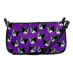 Cat Pattern Shoulder Clutch Bags by Valentinaart