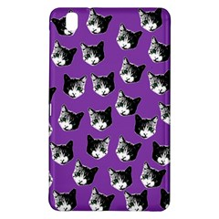 Cat Pattern Samsung Galaxy Tab Pro 8 4 Hardshell Case by Valentinaart