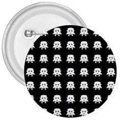 Emoji Baby Vampires Pattern 3  Buttons by dflcprints