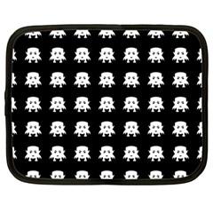 Emoji Baby Vampires Pattern Netbook Case (large) by dflcprints