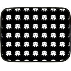 Emoji Baby Vampires Pattern Fleece Blanket (mini) by dflcprints
