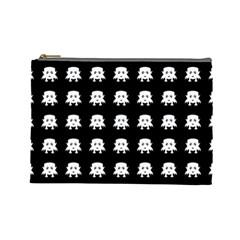 Emoji Baby Vampires Pattern Cosmetic Bag (large)  by dflcprints