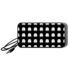 Emoji Baby Vampires Pattern Portable Speaker (black) by dflcprints