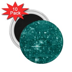 /r/place Emerald 2 25  Magnets (10 Pack)  by rplace