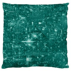 /r/place Emerald Large Cushion Case (two Sides) by rplace