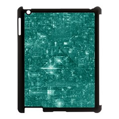 /r/place Emerald Apple Ipad 3/4 Case (black) by rplace