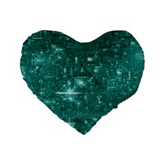 /r/place Emerald Standard 16  Premium Heart Shape Cushions by rplace