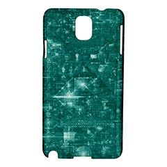 /r/place Emerald Samsung Galaxy Note 3 N9005 Hardshell Case by rplace