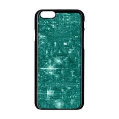 /r/place Emerald Apple Iphone 6/6s Black Enamel Case by rplace
