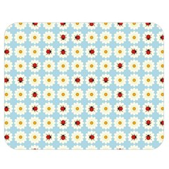 Ladybugs Pattern Double Sided Flano Blanket (medium)  by linceazul
