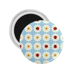 Ladybugs Pattern 2 25  Magnets by linceazul