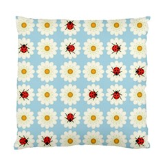 Ladybugs Pattern Standard Cushion Case (two Sides) by linceazul