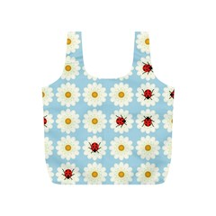 Ladybugs Pattern Full Print Recycle Bags (S)  by linceazul