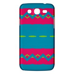 Blue green chains  Samsung Galaxy Duos I8262 Hardshell Case by LalyLauraFLM