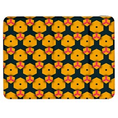 Yellow Pink Shapes Pattern   Htc One M7 Hardshell Case by LalyLauraFLM