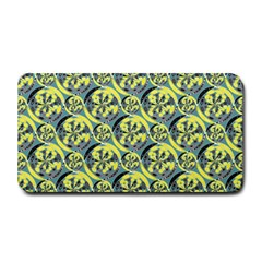 Black And Yellow Pattern Medium Bar Mats by linceazul