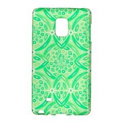 Kiwi Green Geometric Galaxy Note Edge by linceazul