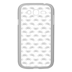 Pop Art Style Crabs Motif Pattern Blob Samsung Galaxy Grand Duos I9082 Case (white) by dflcprints