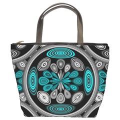 Geometric Arabesque Bucket Bags by linceazul