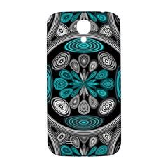Geometric Arabesque Samsung Galaxy S4 I9500/i9505  Hardshell Back Case by linceazul