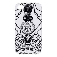 Seal Of Indian State Of Kerala  Apple Iphone 4/4s Premium Hardshell Case by abbeyz71