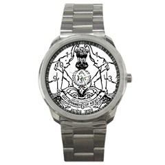 Seal Of Indian State Of Kerala Sport Metal Watch by abbeyz71