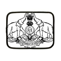 Seal Of Indian State Of Kerala Netbook Case (small)  by abbeyz71