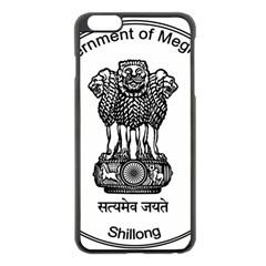 Seal Of Indian State Of Meghalaya Apple Iphone 6 Plus/6s Plus Black Enamel Case by abbeyz71