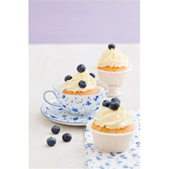 Blueberry Cupcakes 5 5  X 8 5  Notebooks by Coelfen