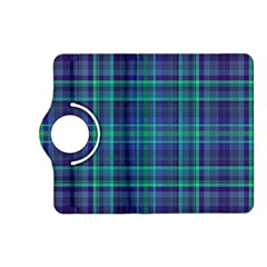 Plaid Design Kindle Fire Hd (2013) Flip 360 Case by Valentinaart