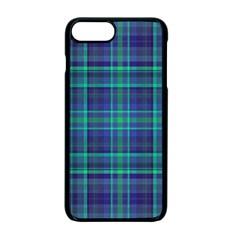 Plaid Design Apple Iphone 7 Plus Seamless Case (black) by Valentinaart