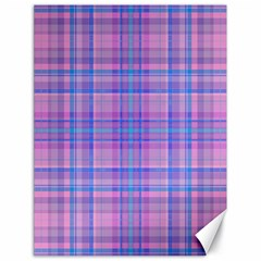 Plaid design Canvas 18  x 24