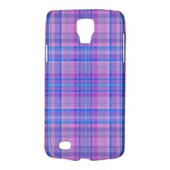 Plaid Design Galaxy S4 Active by Valentinaart