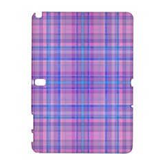 Plaid Design Galaxy Note 1 by Valentinaart