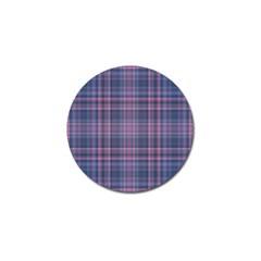 Plaid Design Golf Ball Marker (10 Pack) by Valentinaart