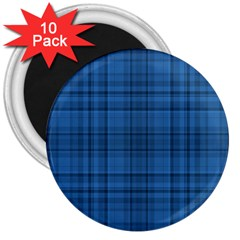 Plaid Design 3  Magnets (10 Pack)  by Valentinaart