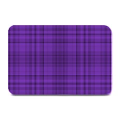 Plaid Design Plate Mats by Valentinaart
