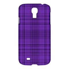 Plaid Design Samsung Galaxy S4 I9500/i9505 Hardshell Case by Valentinaart