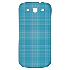 Plaid Design Samsung Galaxy S3 S Iii Classic Hardshell Back Case by Valentinaart