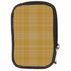 Plaid Design Compact Camera Cases by Valentinaart