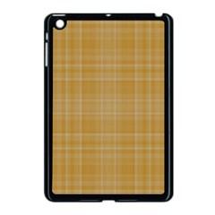 Plaid Design Apple Ipad Mini Case (black) by Valentinaart