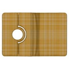 Plaid Design Kindle Fire Hdx Flip 360 Case by Valentinaart