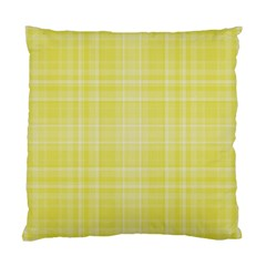 Plaid Design Standard Cushion Case (two Sides) by Valentinaart