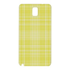 Plaid Design Samsung Galaxy Note 3 N9005 Hardshell Back Case by Valentinaart