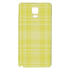 Plaid Design Galaxy Note 4 Back Case by Valentinaart