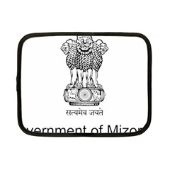 Seal Of Indian State Of Mizoram Netbook Case (small)  by abbeyz71