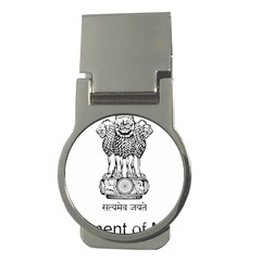 Seal Of Indian State Of Mizoram Money Clips (round)  by abbeyz71