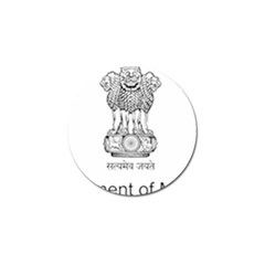 Seal Of Indian State Of Mizoram Golf Ball Marker (10 Pack) by abbeyz71